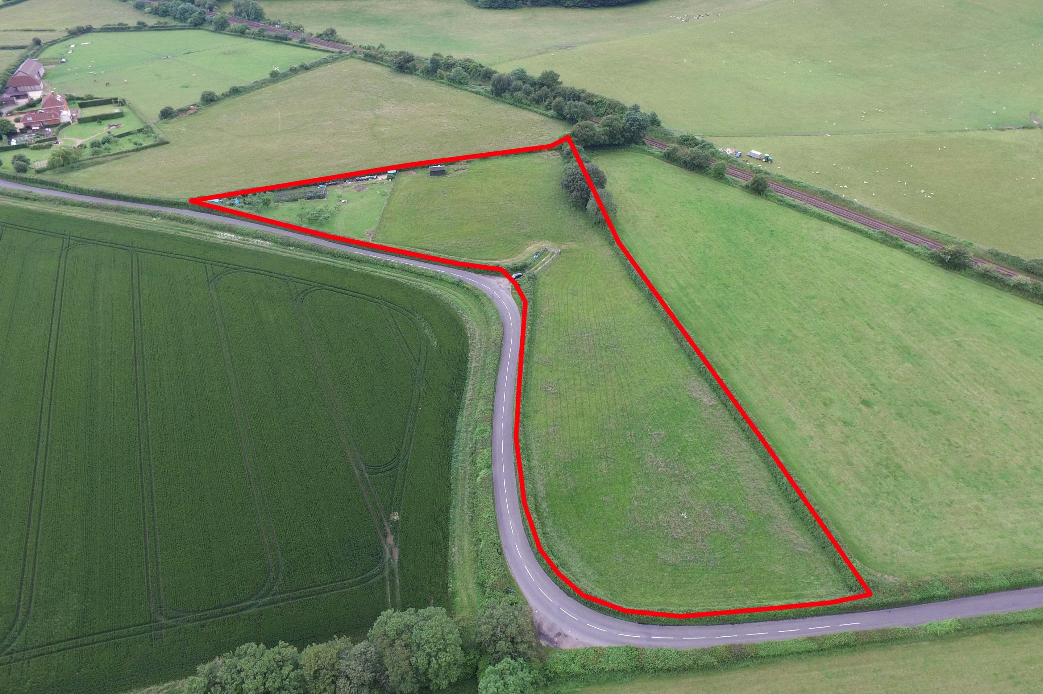 3.58 acres Land off Greenway Lane